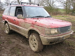 A Range Rover P38, not unlike this user's.