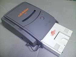 NEC sort PC-Engine en 1987 250px-PCEngine_FirstModel_with_SuperCDRom2