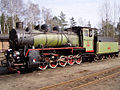 PKP class Pw53 locomotive in Rudy railway museum, Poland.jpg