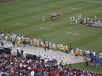 2008 San Francisco 49ers season - Image: Packers at 49ers 8 16 08 3