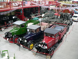 Pallot Heritage Steam Museum - The main hall of the museum in July 2006