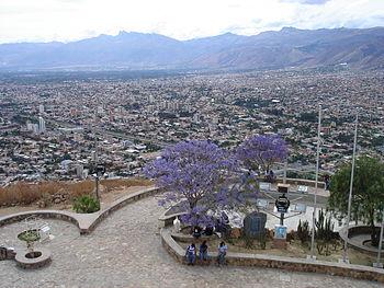 Panorama de Cochabamba Bolivia