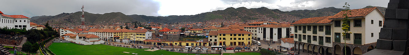 Panorama of Cusco from Coricancha.jpg