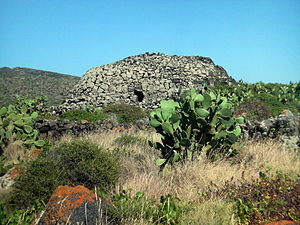 "Pantelleria - One of the ""Sesi"" on Pantelleria."