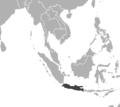 Panthera tigris sondaica distribution Map.png
