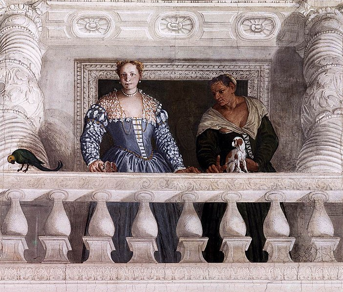 File:Paolo Veronese - Figures behind the Parapet - WGA24895.jpg