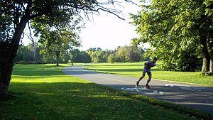 Maisonneuve Park - Image: Parc Maisonneuve 25