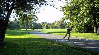 public park in Montreal, Quebec, Canada