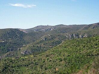 Garraf Massif - Image: Parc natural garraf SW