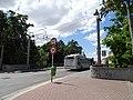 Pardubice, Bubeníkova, Prokopův most, autobus.jpg