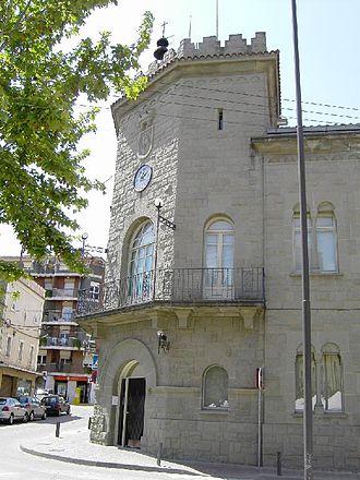 Parets del Vallès - Town hall
