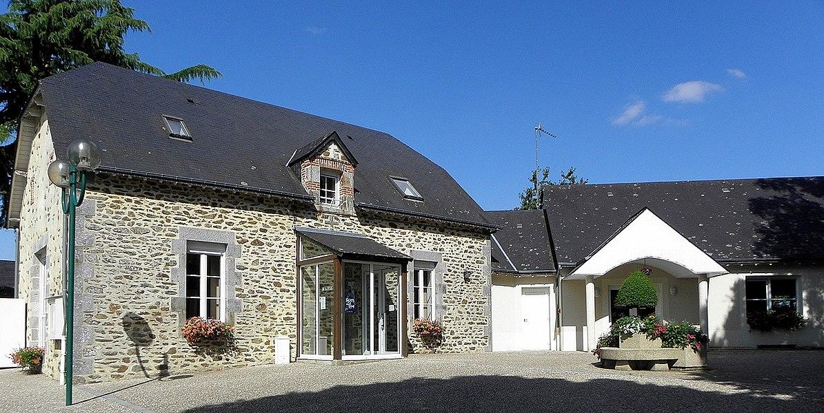 Mairie de Parigné-sur-Braye (53).