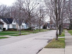 Parklawn Avenue in Middleburg Heights, Ohio