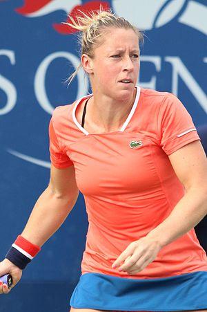 Pauline Parmentier - Parmentier  at the 2016 US Open