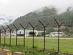 Paro Airport from outside the fence, July 2016 07.jpg