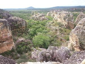 Sete Cidades National Park - Image: Parque Nacional das Sete Cidades, Piauí, Brasil