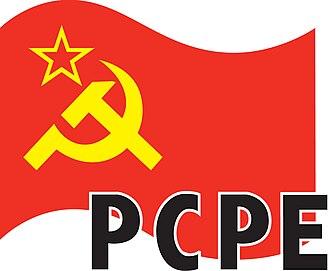 Hammer and sickle - Image: Partido Comunista de los Pueblos de España (logo)