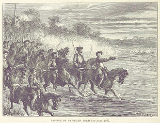 Battle of Newburn - The Scots ford the Tyne