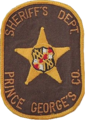 Patch of the Prince George's County Sheriff's Office (former).png