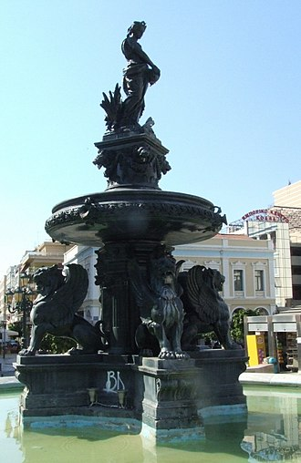 Georgiou I Square - Image: Patras City 02