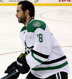 Patrick Eaves v dresu Dallas Stars