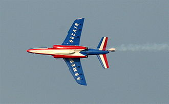Dassault/Dornier Alpha Jet - A French Alpha Jet of the Patrouille de France flight display team