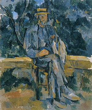 Thyssen-Bornemisza Museum - Portrait de paysan, by Paul Cézanne