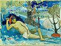 Paul Gauguin - Te arii vahine (The Queen of Beauty or The Noble Queen) - Google Art Project.jpg
