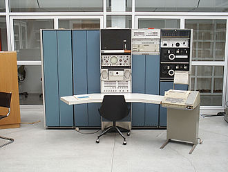 Ken Thompson - DEC PDP-7, as used for initial work on Unix