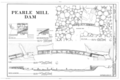 Pearle Cotton Mill and Dam, Elbert County Road 245, Elberton, Elbert County, GA HAER GA,53-ELBE.V,1- (sheet 5 of 5).png