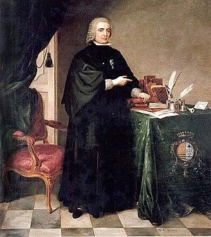 1777 in art - Image: Pedro Rodríguez de Campomanes
