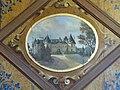 Peinture en trompe-l'oeil dans un cabinet du château.JPG