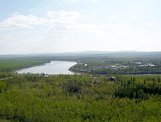Pelly River - Pelly River at Pelly Crossing