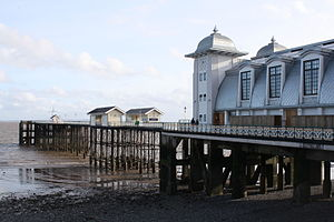 Penarth - Image: Penarth Pier Refurbished