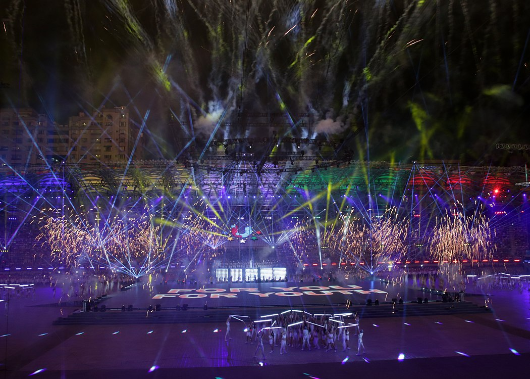 Performance on the Opening ceremony of the 2017 Summer Universiade (2).jpg