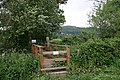 Permissive Bridge into St. Wulstan's Nature Reserve - geograph.org.uk - 428156.jpg