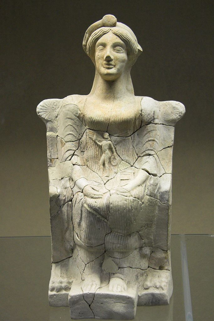 File:Persephone-Aphrodite, clay, Sicily, 460 BC, AM ...