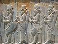 Persepolis stairs of the Apadana relief02.JPG