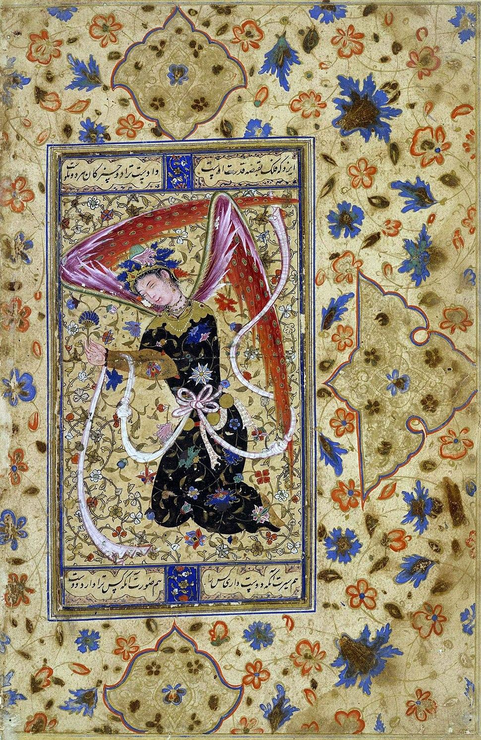 Persian angel 1555