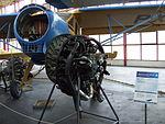 Petőfi Csarnok, Repüléstörténeti kiállítás, PZL-101 Gawron.JPG