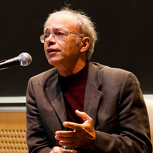 Effective altruism - Peter Singer is a prominent advocate of effective altruism.