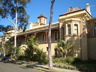 Petersham, New South Wales - Petersham railway building
