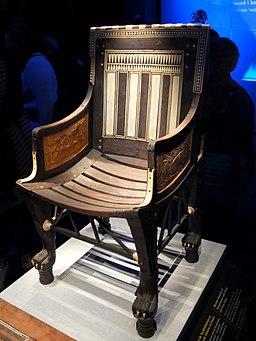 Petit fauteuil de Toutânkhamon 2019