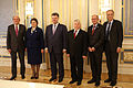 Petro Poroshenko Bogdan Borusewicz Sean Barrett Urban Ahlin Loreta Graužinienė Bertel Geismar Haarder Kiev Senate of Poland.JPG