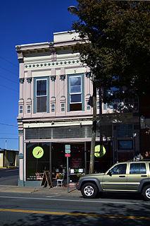 Peyton–Ellington Building Charlottesville, Virginia, listed on the NRHP in Virginia