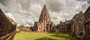 History of Isan - Phanom Rung in Buriram.