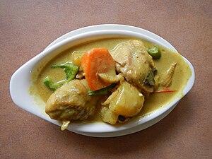 Chicken curry - Philippine chicken curry (La Familia, Baliuag, Bulacan)