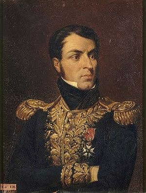 Jean Reynier - Jean Louis Ebenezer de Reynier; portrait by Félix Philippoteaux (1836).