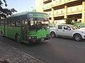 Phnom Penh BRT bus approaching Monivong-Sihanouk station.jpg
