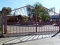 Phoenix, AZ, W 11th Ave. Pink Gate, Old Motor Court, 2012, Ibis Blas Photographer - panoramio.jpg